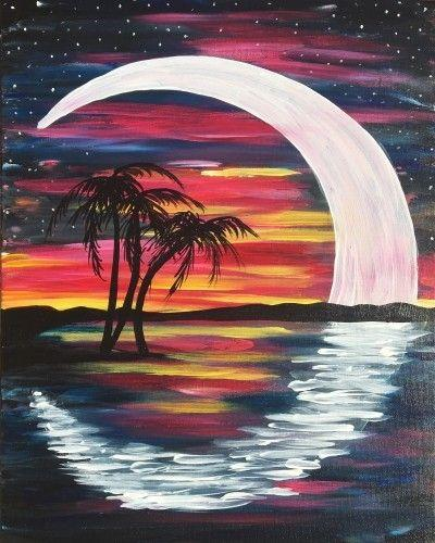 Paint Night for Tweens and Teens