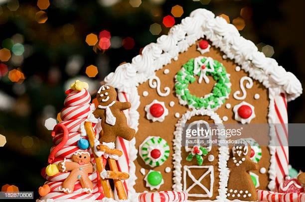 Make a Gingerbread House at Greene Library December 1st at 11am