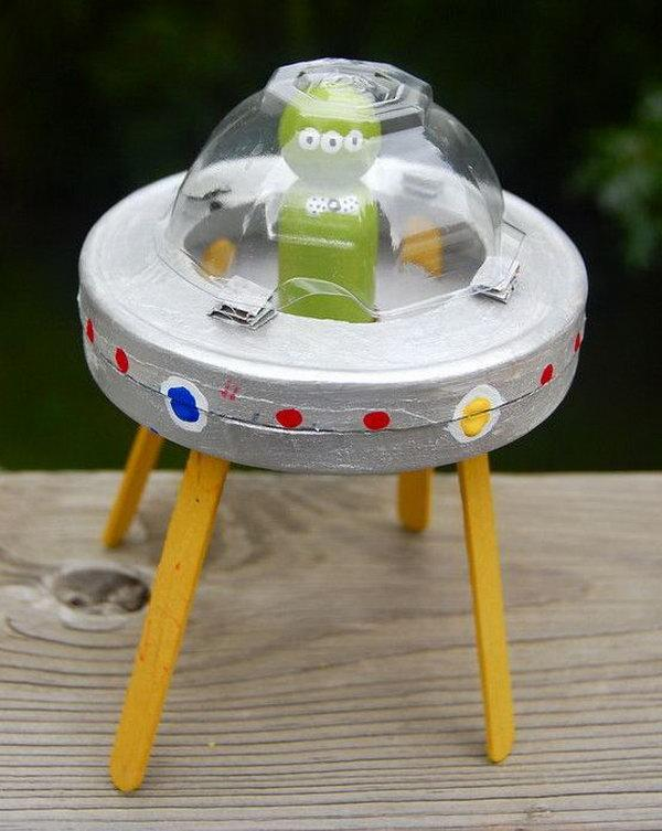 Make a Space ship at Greene on Thursday, July 18, 3:30 to 5:30pm