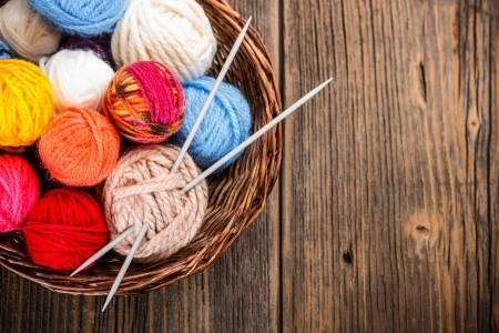 Knitting and Crochet Group Every Tuesday at 6pm