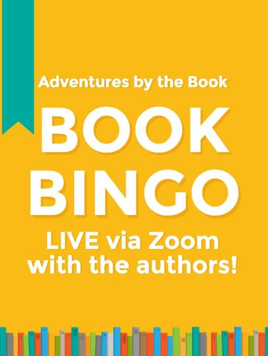 Adventures by the Book Book Bingo Live via Zoom with the authors!