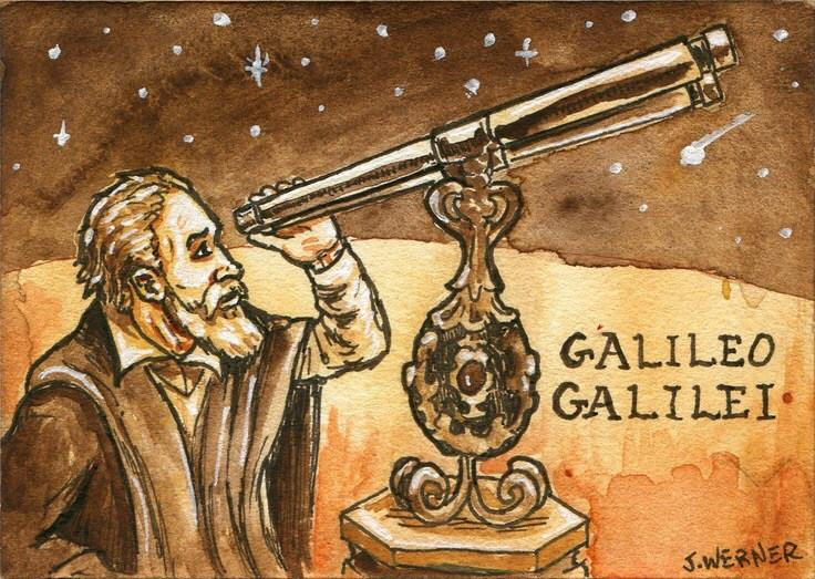 Galileo visits Coventry Public Library.