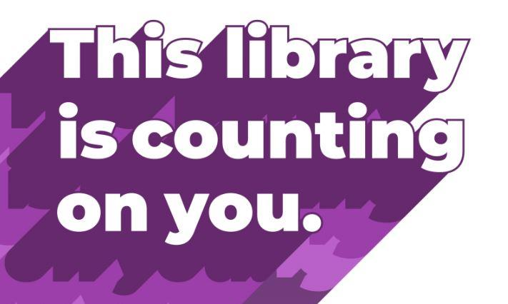 This library is counting on you.